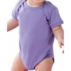 INFANT FINE JERSEY LAP SHOULDER BODYSUIT