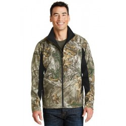 CAMOUFLAGE SOFT SHELL JACKET