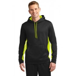 MOISTURE WICKING COLORBLOCK HOODED SWEATSHIRTS