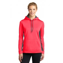 MOISTURE WICKING COLORBLOCK HOODED SWEATSHIRT