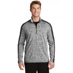 Lightweight Heather Colorblock 1/4-Zip Pullover