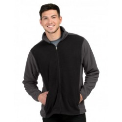 Colorblock Fleece Jacket